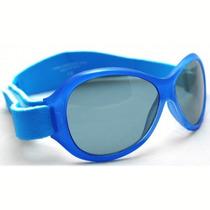 Gafas De Sol - 2-5 Años Banz Azul Retro Kids Niño Uvb