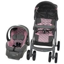 Oso Carreola Evenflo Aura 4 En 1 Portabebe Base Auto Sp0