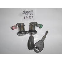 Chapas,cilindros,cerradura,puertas,nissan,tsuru,82,89