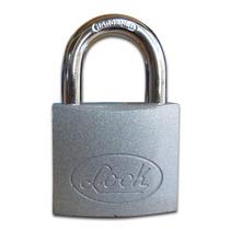 Candado De Acero Seguridad Alta 50mm Horquilla Corta Mn4