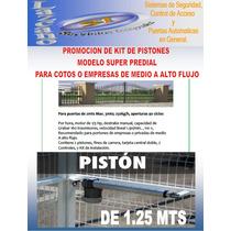 Puertas Automaticas,kit De Pistones Semi Industrial