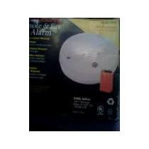 Detector De Humo Y Fuego Mod 0915 9v