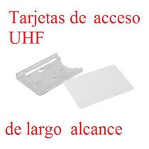 Tarjeta Acceso De Largo Alcance Uhf Procard