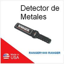 2 Ranger1000 Ranger Detector Armas/metales Portatil C/cargad