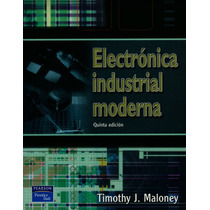 Electrónica Industrial Moderna - Circuitos - Voltage - Libro
