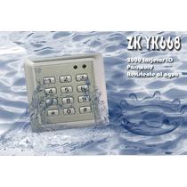 Saxxon Yk668- Control De Acceso Para Tarjeta Id A Prueba De