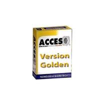 Activacion Control De Zk Acceso Golden 150 Empleados +c+