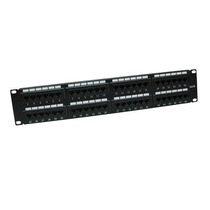C6u8bbh48- Patch Panel/cat 6/48 Ptos/19 Pulgadas/montaje En