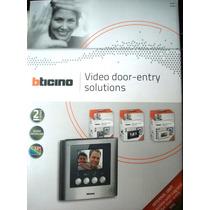 Monitor Adicional Color Bticino 331951 3.5¨ Kit 316611