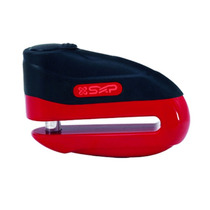 Candado Disco Freno P/ Moto Sxp 501j Rojo Alto Impacto 10mm