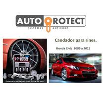 Candados Para Rin Gorilla Honda Civic / Accord 2006-2014