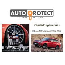 Candados Para Rines Gorilla Mitsubishi Outlander 2001 A 2015