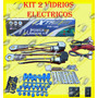 Kit Conversion 2 Vidrios Manuales A 2 Vidrios Electricos