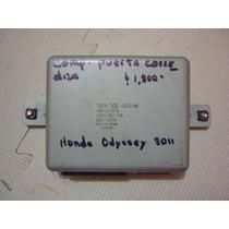Modulo Computadora De Puerta Corrediza Honda Odyssey 2011