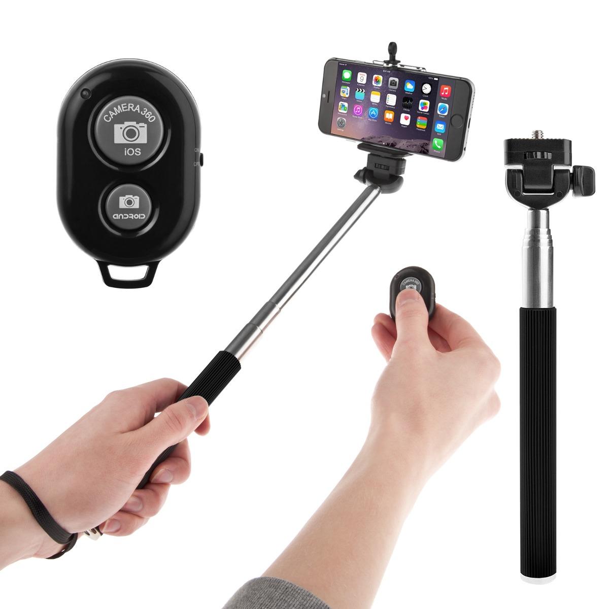 selfie stick apple android monopod bluetooth envio gratis en mercad. Black Bedroom Furniture Sets. Home Design Ideas