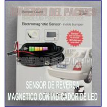 Sensor De Reversa Electromagnetico Con Display De Led