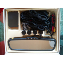 Retrovisor Pantalla 3 Tft Camara De Reversa Sensores Buzzer