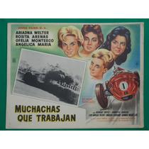 Ricardo Rodriguez Angelica Maria Original Cartel De Cine