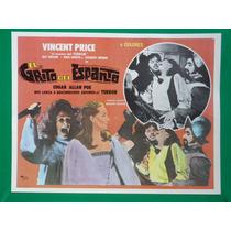 Vincent Price El Grito Del Espanto Terror Cartel De Cine
