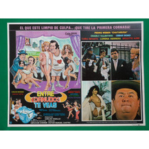 Entre Cornudos Te Veas Sexy Topless Original Cartel De Cine