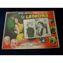 La Ladrona Rosita Arenas Lobby Card Cartel Poster