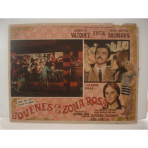 Alberto Vázquez, Jovenes En La Zona Rosa , Cartel De Cine