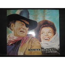 Rooster Cogburn And The Lady, John Wayn Folleto Publicitario