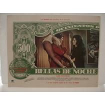 Sasha Montenegro , Bellas De Noche , Cartel ( Lobby Card )