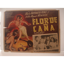 Maria Antonieta Pons, Flor De Caña , Cartel De Cine