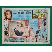 Dolores Del Rio Casa De Mujeres Original Cartel De Cine