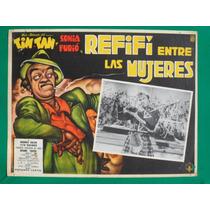 Tin Tan Refifi Entre Las Mujeres Original Cartel De Cine