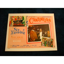 Su Excelencia Cantinflas Lobby Card Cartel Poster A