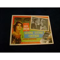 Siempre Estare Contigo Rosita Quintana Lobby Card Cartel