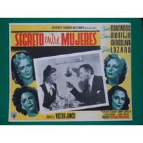 Miroslava Secreto Entre Mujeres Victor Junco Cartel De Cine