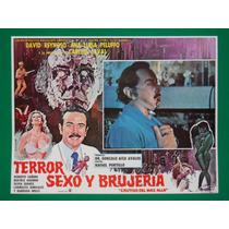 Terror Sexo Y Brujeria Ana Luisa Peluffo Vudu Cartel De Cine