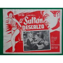 Tin Tan El Sultan Descalzo Yolanda Varela Cartel De Cine 4