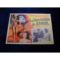 La Vendedora De Amor Antonio Badu Lobby Card Cartel Poster