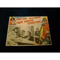 Que Bravas Son Las Solteras Olga Breeskin Lobby Card D