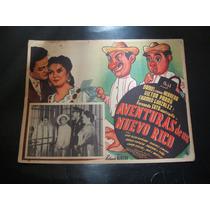 Aventura De Un Nuevo Rico Victor Parra Lobby Card Cartel