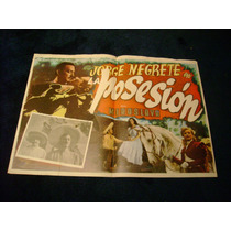 La Posesion Jorge Negrete Lobby Card Cartel Poster