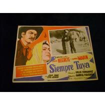 Siempre Tuya Jorge Negrete Lobby Card Cartel Poster