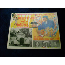 Detectives O Ladrones Capulina Lobby Card Cartel Poster