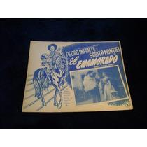 El Enamorado Pedro Infante Lobby Card Cartel Poster H