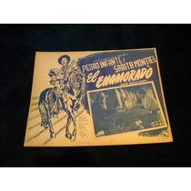 El Enamorado Pedro Infante Lobby Card Cartel Poster C
