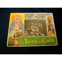 La Reina Del Cielo Lilia Prado Lobby Card Cartel Poster