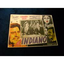 El Indiano Fernando Soler Lobby Card Cartel Poster