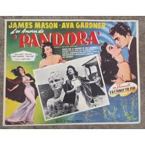 Lobby Card Los Amadores De Pandora Cartel De Cine Mexicano!!