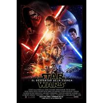 Poster Original Star Wars El Despertar De La Fuerza