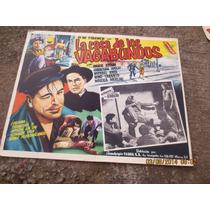 Antiguo Lobby Card La Casa De Los Vagabundos Cartel De Cine!