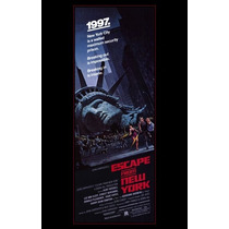 Poster (28 X 43 Cm) Escape From New York